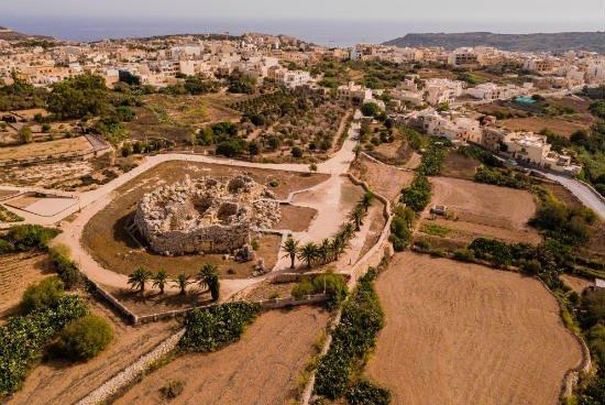 Blog on Life Gozo Ggantija temple megalithic structure UNESCO