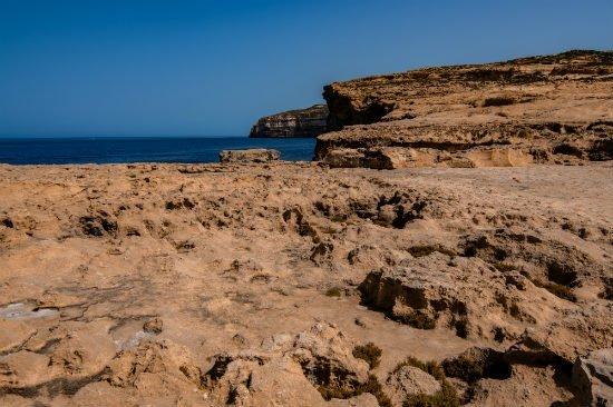 Blog on Life Malta Gozo Dwejra Azure window remains