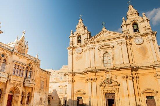 Blog on Life Malta Mdina The Silent City St. Pauls Cathedral