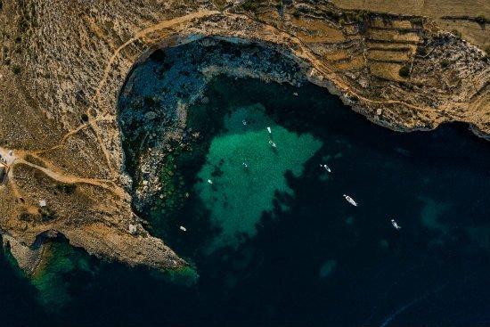 Blog on Life Malta Mistra bay ph. Alex Turnbull