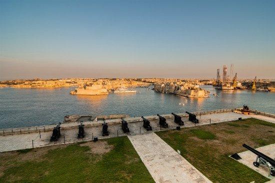 Blog on Life Malta Valletta Saluting Battery