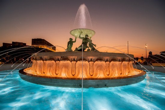 Blog on Life Malta Valletta Triton Fountain ph Alex Turnbull