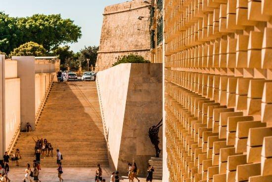 Blog on Life Malta Valletta main entrance to city