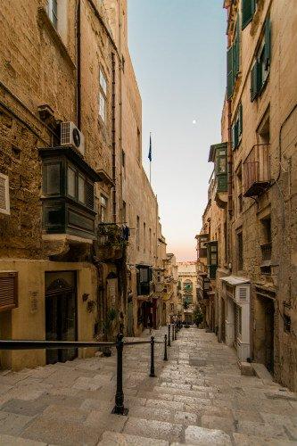 Blog on Life Malta Valletta streets