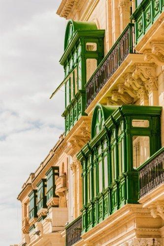 Blog on Life Malta Valletta traditional balconies