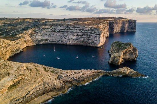 Blog on Life Travel Gozo Dwejra cliffs and Fungus rock