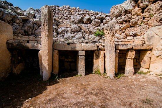 Blog on Life Travel Gozo Ggantija structure megalithic temple