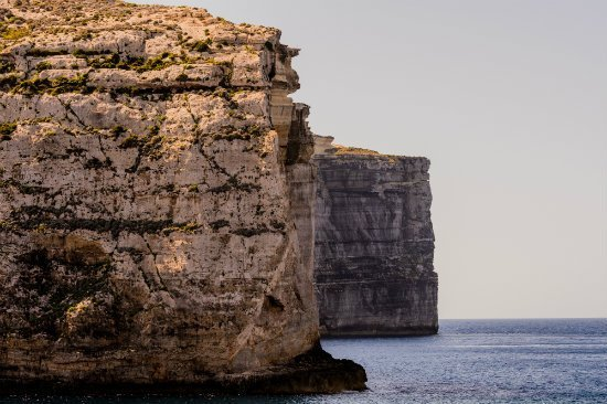 Blog on Life Travel Gozo Ta Cenc cliffs closeup ph Alex Turnbull