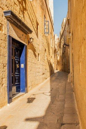 Blog on Life Travel Malta Mdina narrow roads within fortress