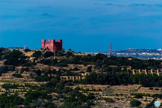 Blog on Life Travel Malta Mellieha red castle