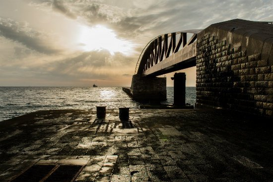 Blog on Life Valletta breakwater bridge ph by Alex Turnbull
