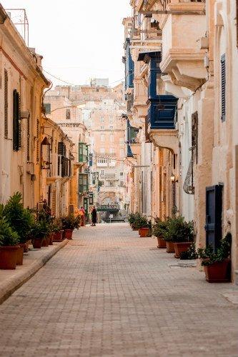 Blog on Life Valletta capital city streets ph Alex Turnbull