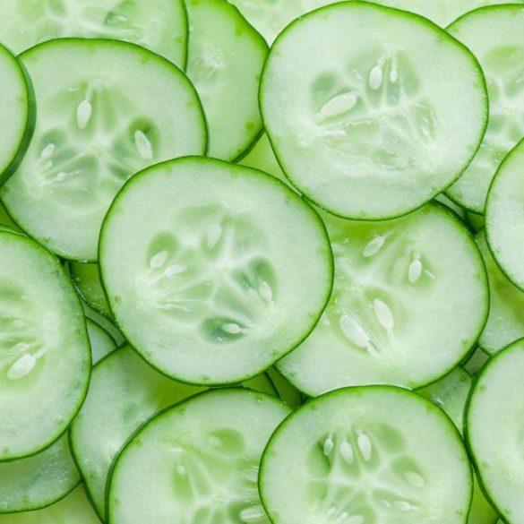 Blog on Life Homemade facial toner recipe cucumber lemon parsley