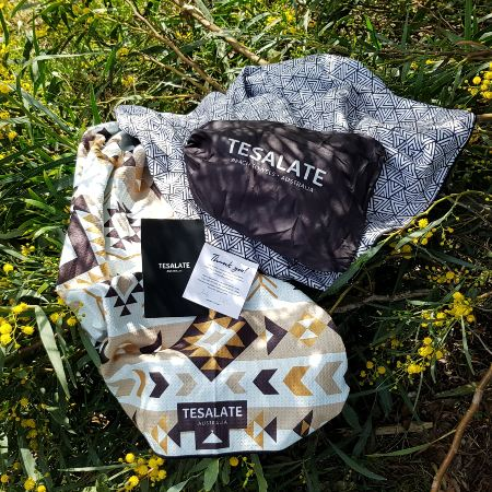 Blog on Life Into the Wild XL beach towel by Tesalate product review